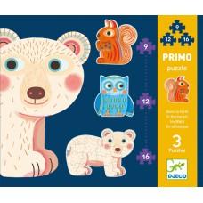 Puzzle Primo Dans la Foret 9/12/16 pcs
