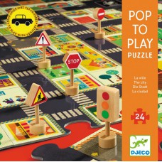 Puzzle Géant La Ville 24 pcs