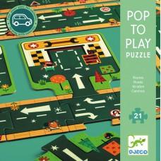 Puzzle Routes 21 pcs