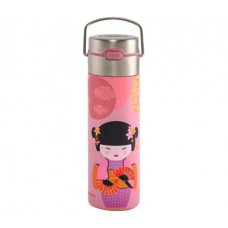 Bouteille isotherme new little geisha rose