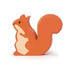 Animal en bois écureuil