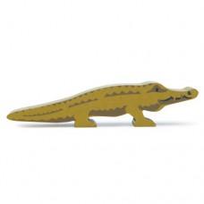 Animal en bois Crocodile