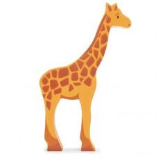 Animal en bois Girafe