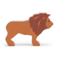 Animal en bois Lion