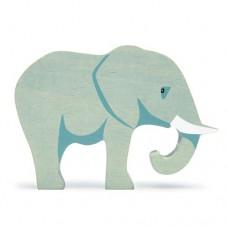 Animal en bois Eléphant