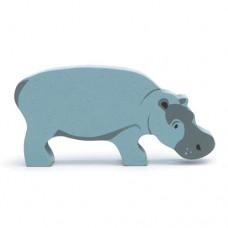 Animal en bois Hippopotame