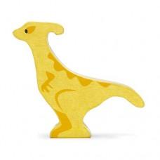 Animal en bois Parasaurolophus