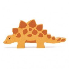 Animal en bois Stégosaure