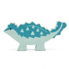 Animal en bois Ankylosaure