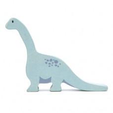 Animal en bois Brachiosaure