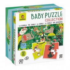 Ludattica puzzle Baby Puzzle Jungle carton 32 pièces