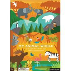 Sticker Activity Set animaux