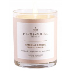 Bougie parfumée Cannelle Orange 180g