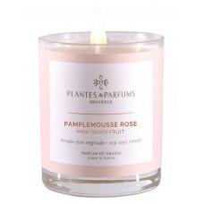 Bougie parfumée Pamplemousse rose 180g
