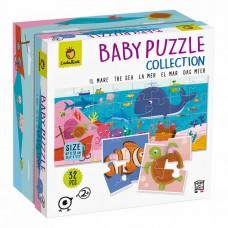 Ludattica puzzle Baby Puzzle Mer carton 32 pièces