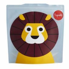 Sac collation carré Lion